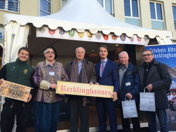 Stand Hansetag in Wesel